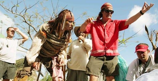 Johnny Depp e Gore Verbinski
