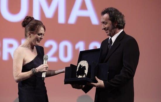 Julianne Moore premiata a Roma