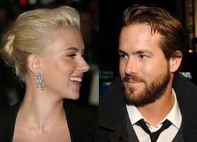 Scarlett Johansson e Ryan Reynolds