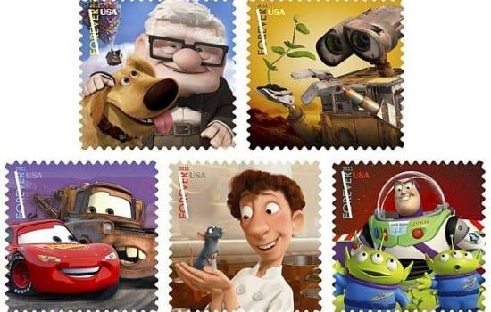 Francobolli Pixar