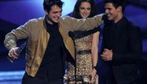 Kristen Stewart Robert Pattinson Lautner