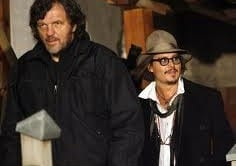 Emir Kusturica e Johnny Depp