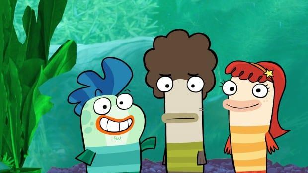 Fish Hooks Milo Oscar e Bea