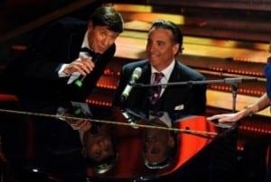 Gianni Morandi e Andy Garcia