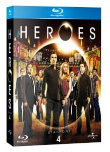 Heroes 4 Pack Bluray