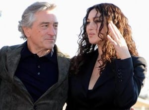 Robert De Niro e Monica Bellucci