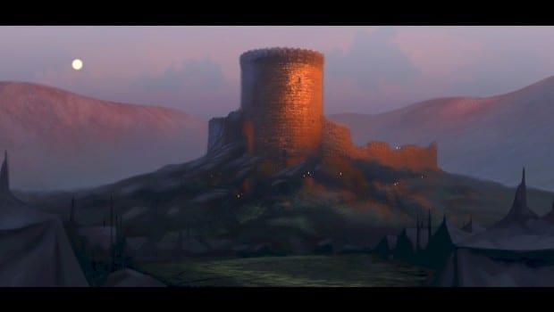 CastleSunset Painting SPilcher Digital 2008 special16 R rgb