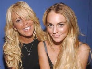 Dina e Lindsay Lohan