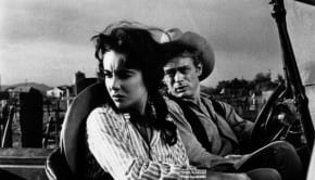Liz Taylor e James Dean