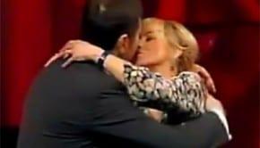 Luciana Littizzetto bacia Fabio Fazio