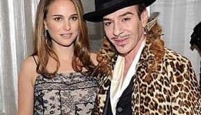 Natalie Portman e John Galliano