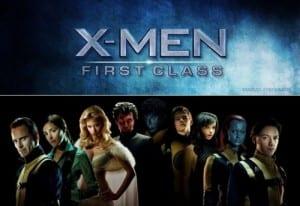 x men first class poster