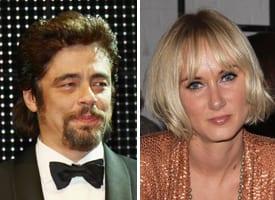 Benicio Del Toro e Kimberly Stewart