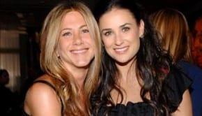 Jennifer Aniston e Demi Moore