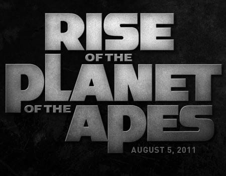rise of the planet of the apes logotype