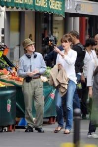 Woody Allen e Carla Bruni
