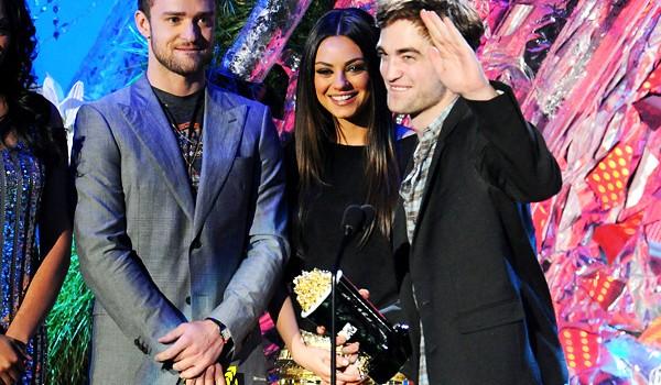 Justin Timberlake Mila Kunis Robert Pattinson