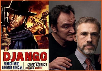 django unchained tarantino waltz