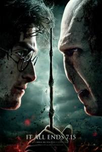 primo poster di Harry Potter e i doni della morte Parte 2