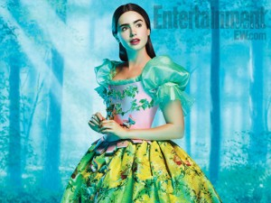 lily collins biancaneve snow white