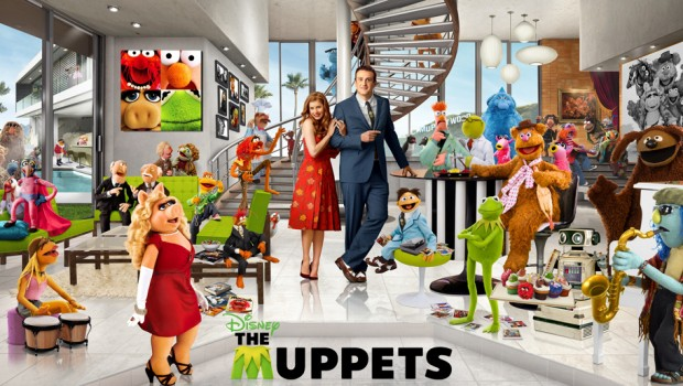 the muppets standee