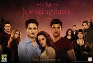 the twilight saga breaking dawn parte 1 poster comic con640