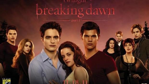 the twilight saga breaking dawn parte 1 poster comic con640