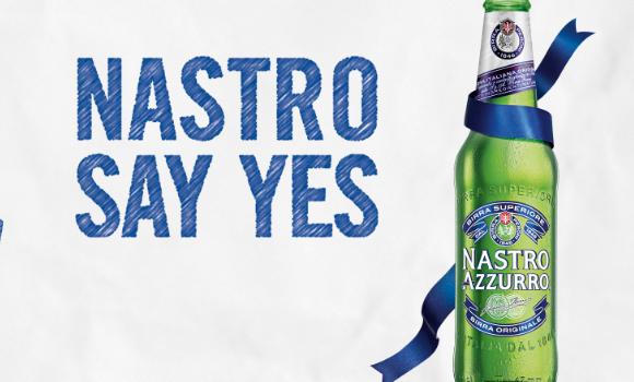 nastro azzurro say yes