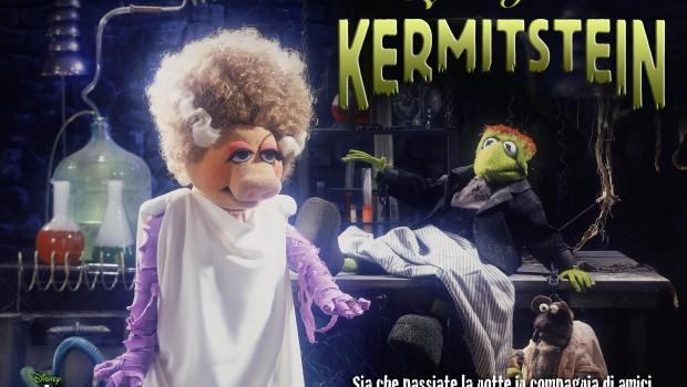 Muppet Frankermit Halloween
