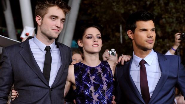 Robert Pattinson Taylor Lautner Kristen Stewart