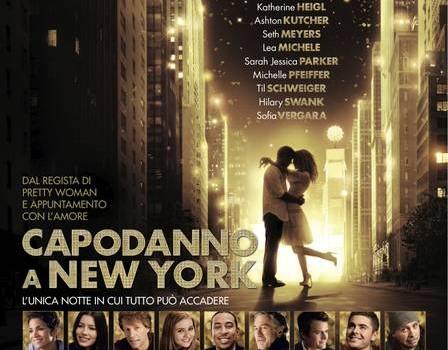 capodanno a new york poster italiano mid