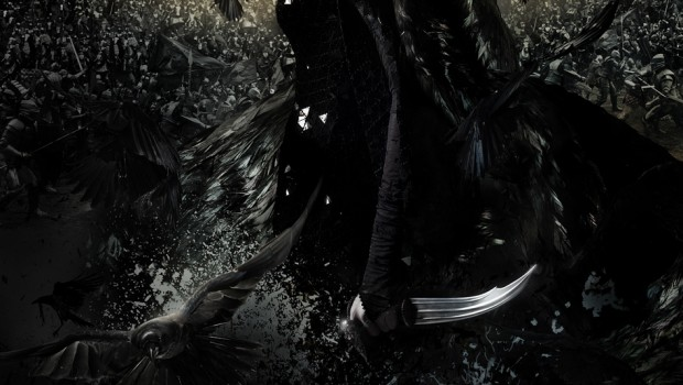 snow white huntsman movie poster charlize theron 01
