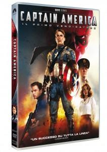Capitan America DVD Sleeve packshot