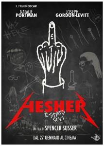 HESHER E STATO QUI teaser poster