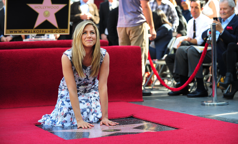 Jennifer Aniston: una stella sulla Walk of Fame   CineZapping