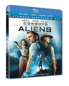 Cowboys and Aliens BDDVDDC packshot 3D