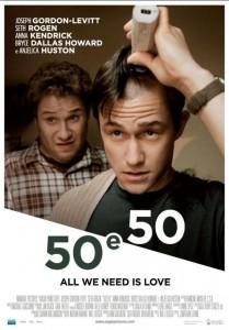 50 e 50 ecco la locandina italiana 231176