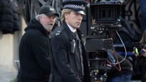 immagine dal set di 007 Skyfall