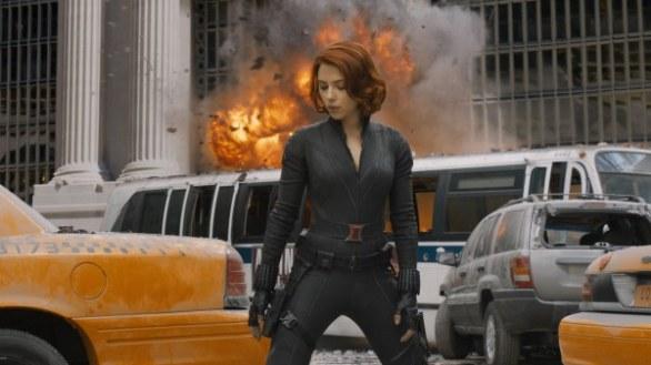 Scarlett Johansson in The Avengers