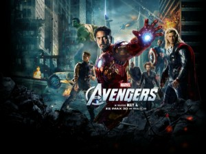 The Avengers poster Quad apple12 600x4491