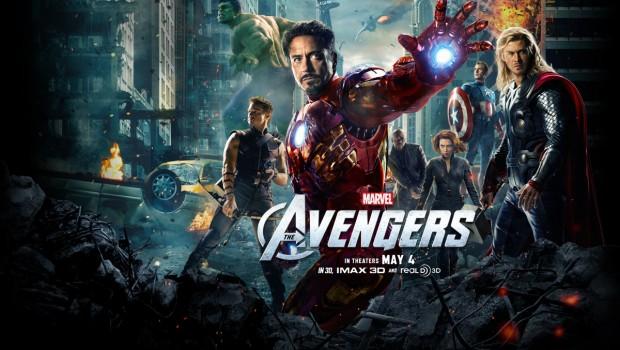 The Avengers poster Quad apple12