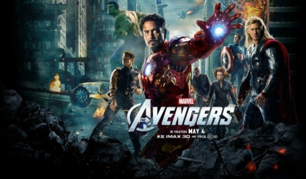 The Avengers poster Quad apple12 600x4491 600x448