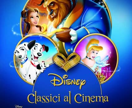 locandina disney classici al cinema