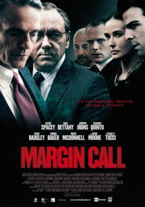 margin call locandina kevin spacey paul bettany stanley tucci jeremy irons demi moore zachary quinto