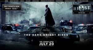 Batman 3 sito ufficiale
