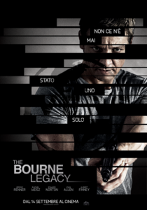 Bourne Legacy Locandina ITA