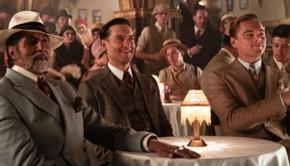 Tobey Maguire e Leonardo DiCaprio in Il grande Gatsby