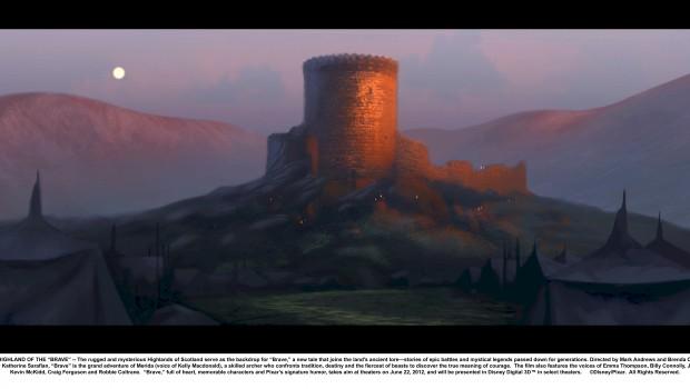 CastleSunset Painting SPilcher Digital 2008.special16