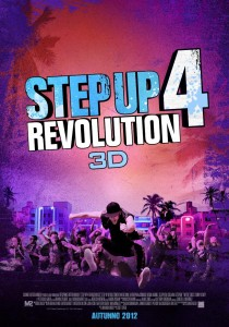Step Up 4 Revolution 3D locandina poster 2012