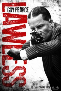 guy pearce lawless poster